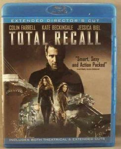 Total Recall Blu-Ray 2 Disc Set Disc K. Beckinsale C. Farrell