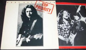 Gallagher, Rory - Top Priority Vinyl LP Promo
