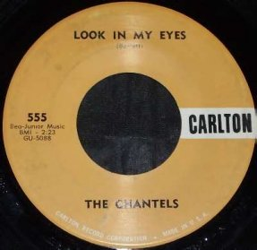 Chantels - Look In My Eyes / Glad To Be Back Vinyl 45 7