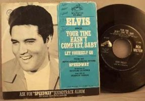 Presley, Elvis - Your Time Hasn't Come Yet Baby Vinyl 45 7 W/PS