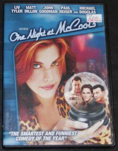 One Night At McCools DVD Liv Tyler, Matt Dillon, John Goodman
