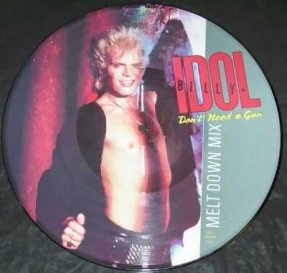 Idol, Billy - Don't Need A Gun 12 Vinyl Picture Disc
