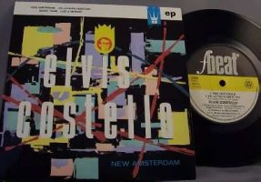 Costello, Elvis - New Amsterdam U.K. Vinyl 45 7 EP