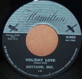 Guitars Inc - Little Toy / Holiday Love Vinyl 45 7