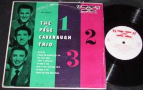 Cavavaugh, Page Trio - Self Titled Page Cavavaugh Trio Vinyl 10