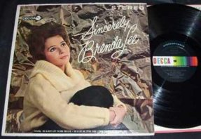 Lee, Brenda - Sincerely Brenda Lee Vinyl LP