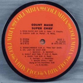 Basie, Count - Super Chief Coaster