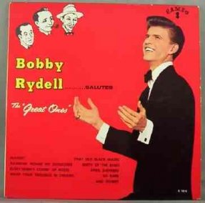 Rydell, Bobby - Salutes The Great Ones Vinyl LP