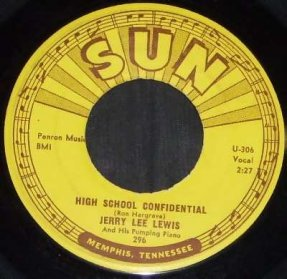 Lewis, Jerry Lee - High School Confidential / Fools Like Me 45