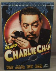 Charlie Chan Collection Volume 2 DVD Box Set
