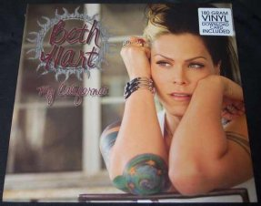 Hart, Beth - My California 180gm Vinyl LP Sealed