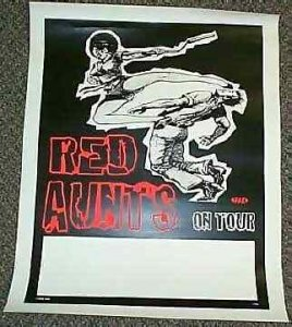 Red Aunts - On Tour Rock Poster