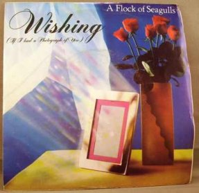 A Flock Of Seagulls - Wishing / Committed Vinyl 45 W/PS