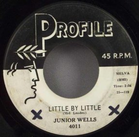 Wells, Junior - Little By Little / Come On In This House 45