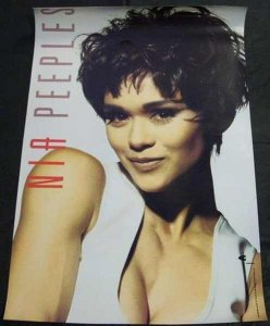 Peeples, Nia - Self Titled Nia Peeples Double Sided Pro Poster