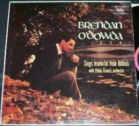O'Dowda, Brendan - Sings Immortal Irish Ballads Vinyl LP