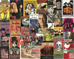 Classic Rock 8 X 10 Collage 2
