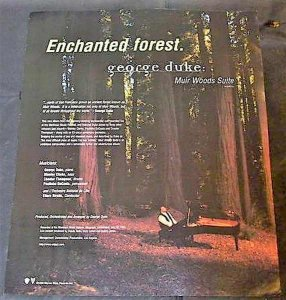 Duke, George - Muir Woods Suite Billboard Trade Ad 1996