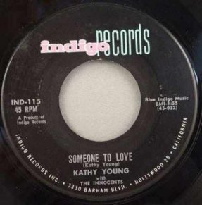 Young, Kathy - Someone To Love / Happy Birthday Blues Vinyl 45
