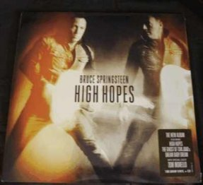 Springsteen, Bruce - High Hopes Vinyl LP 180gm +CD