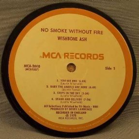 Wishbone Ash - No Smoke Without Fire Coaster