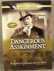 Dangerous Assignment Collection One DVD Box Set Brian Donlevy