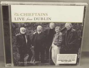 Chieftains - Live From Dublin CD Promo