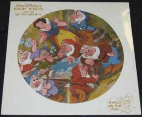 Walt Disney\'s Snow White And The Seven Dwarfs Vinyl LP Pic Disc