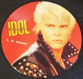 Idol, Billy - L.A. Woman Vinyl 12 Picture Disc