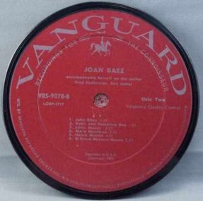 Baez, Joan - Self Titled Joan Baez Coaster