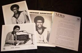 Hancock, Herbie - Sunlight 1978 Promo Press Kit