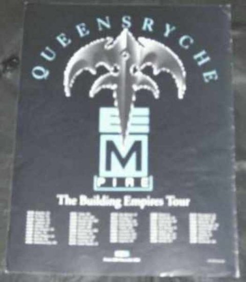 Queensryche - Building Empires Tour 1991 Trade Ad - Click Image to Close
