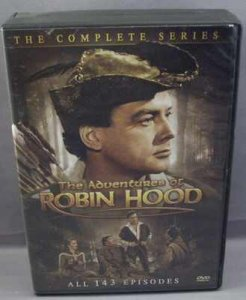 Adventures Of Robin Hood DVD Box Set 143 Episodes