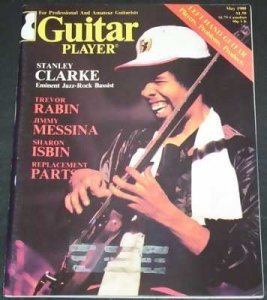 Guitar Player Magazine May 1980 Stanley Clarke