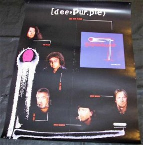 Deep Purple - Purpendicular Promo Poster