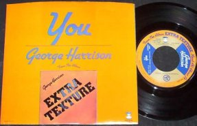 Harrison, George - You / World Of Stone Vinyl 45 7 W/PS