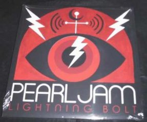 Pearl Jam - Lightning Bolt Vinyl LP W/Booklet