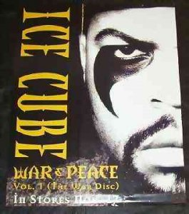 Ice Cube - War & Peace Promo Poster