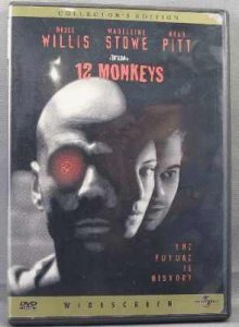 12 Monkeys Collectors Edition DVD Bruce Willis, Brad Pitt