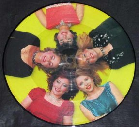 Go Gos - Automatic / Tonite UK Vinyl 45 Picture Disc