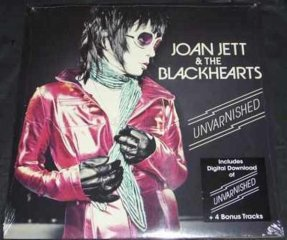 Jett, Joan & The Blackhearts - Unvarnished Vinyl LP