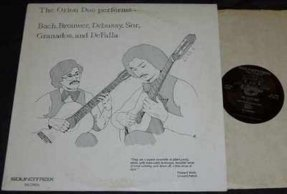 Orion Duo - Performs Bach, Brouwer, Debussy, Sor, Granados..LP