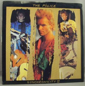 Police - Synchronicity II / Once Upon A Daydream Vinyl 45 W/PS