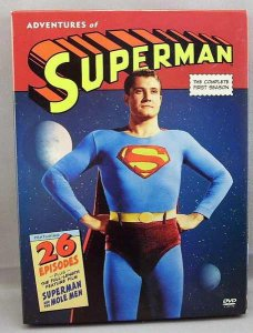 Adventures of Superman Complete First Season DVD Box Set