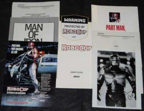 Robocop Promo Press Kit W/ Photo and Inserts