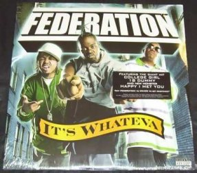 Federation - It\'s Whateva Vinyl LP