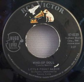 March, Little Peggy - I Will Follow Him /Wind-Up Doll Vinyl 45