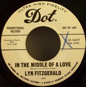 Fitzgerald, Lyn - In The Middle Of Love / Little Did I Know 45