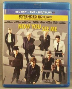Now You See Me Blu-Ray Disc / DVD