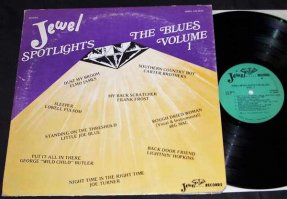 Various Artists -Jewel Spotlights The Blues Vol. 1 Vinyl LP